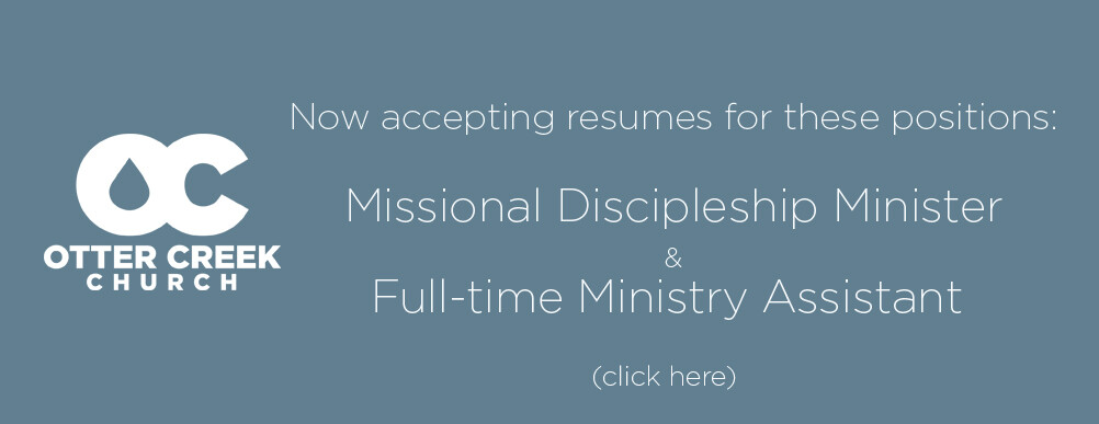 Missional Discipleship Position